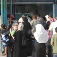 Going through a checkpoint